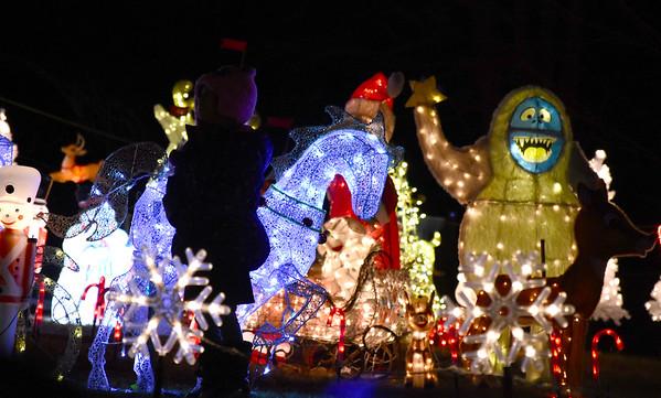 Arnold's Christmas Display - 122318