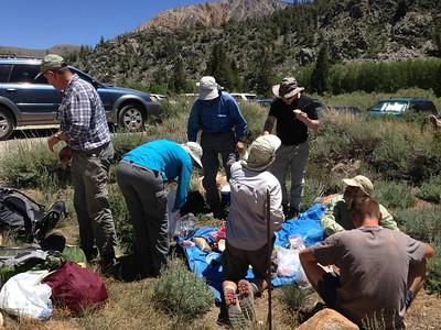 Kings Canyon NP, Backpacking, July 2014