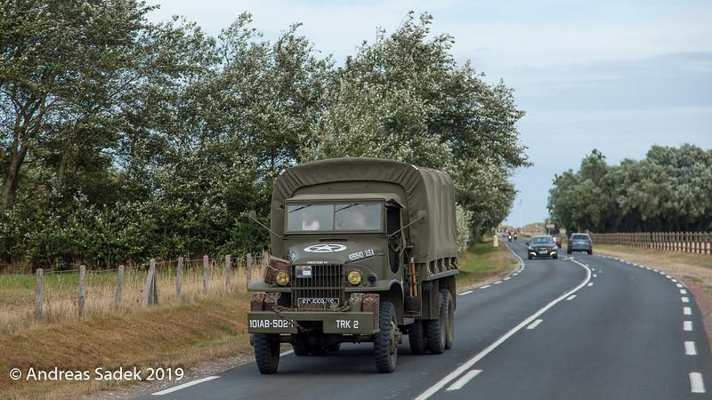 Geschichtsträchtige Fahrzeuge sind in der Normandie allgegenwärtig
