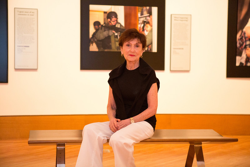 Cyma Rubin, Creator of the Capture the Moment Exhibit