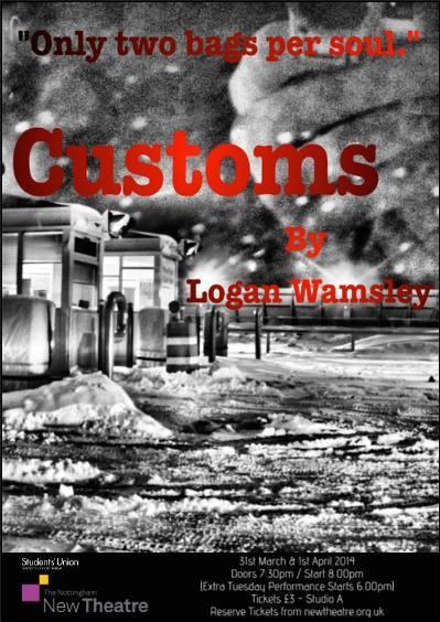 Customs poster