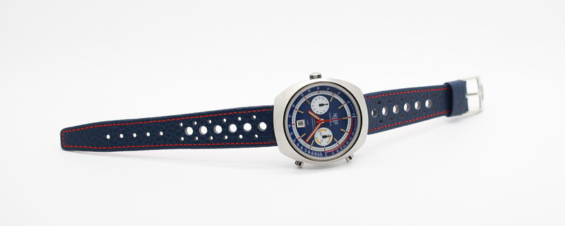 Heuer Montreal 110.503B - Blue Dial