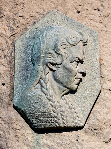 Tomasdottir Tomasson, who saved the falls as a public park