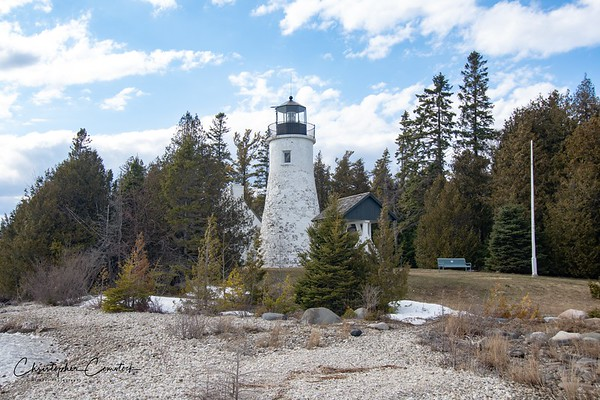 Eastern Michigan Lighthouses April 2019