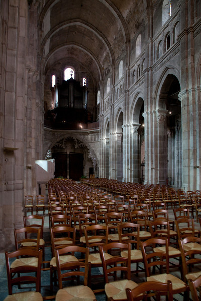 Autun Cathedral Nave