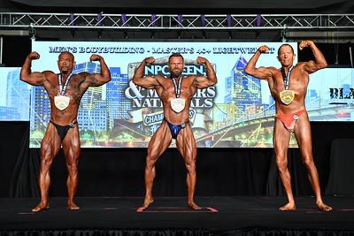 Men's Bodybuilding Masters 40+ B & LW