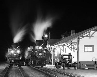 Cass Scenic Railroad in Cass, West Virginia