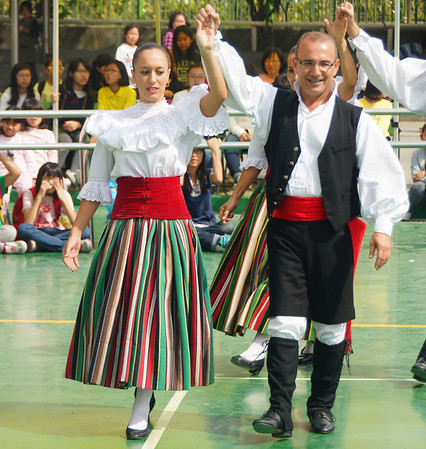 Spanish Folk Performers in Anseong
