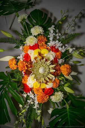 Hyacinth Orange Flowers
