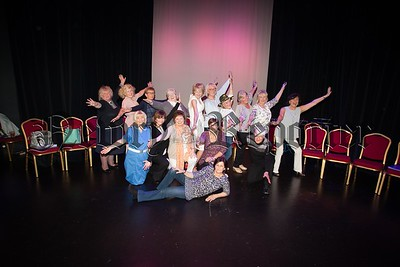 Pictured are the Drama group at Newry Arts Centre who took part in a Imagine Arts Programme facilitated by Kaleidoscope. R1521006