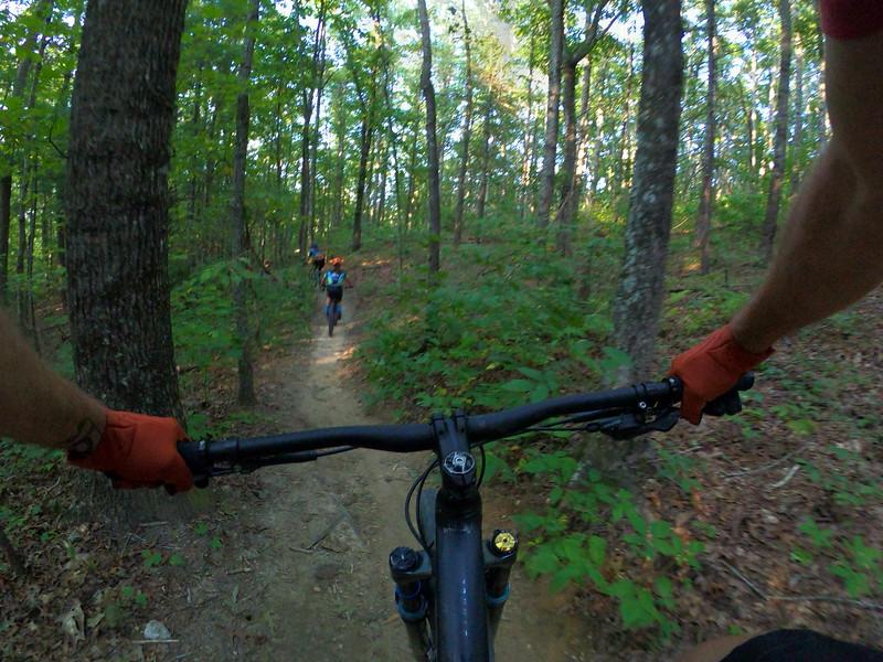 2021 Cognative MTB Rides on Video
