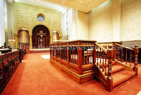 USA, California, Los Angeles, Beverly Hills. Sephardic Temple Tifereth Israel. 2009.