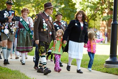 2016 UWL Child Care Center Oktoberfest Parade