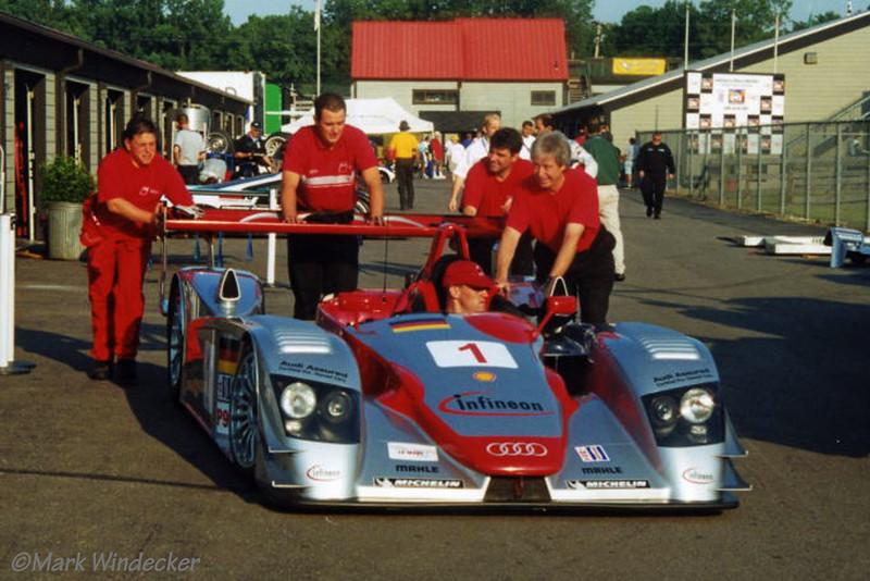 LMP900-Audi Sport North America