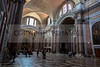 The Remaining Intact Baths of Diocletian, the Largest Imperial Baths of Rome