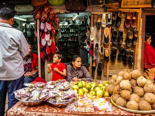 Tihar Market, Kathmandu, Nepal