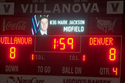 Villanova vs Denver 8-9 OT Apr 4 2014 @ Villanova
