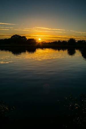 Barnby Dun Canal Sunset