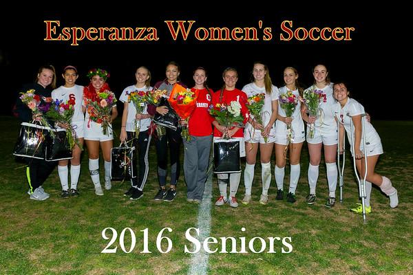 2-5-16 Senior Night Celebration