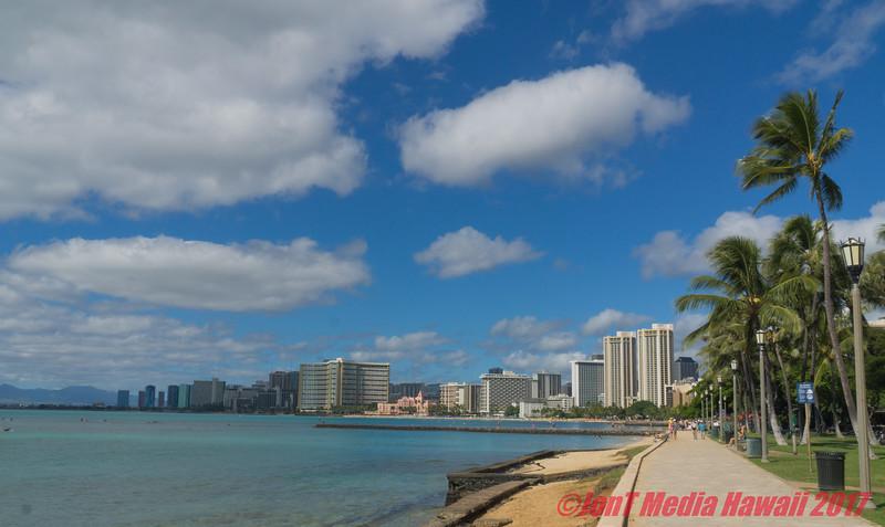 Waikiki and Honolulu Shoreline