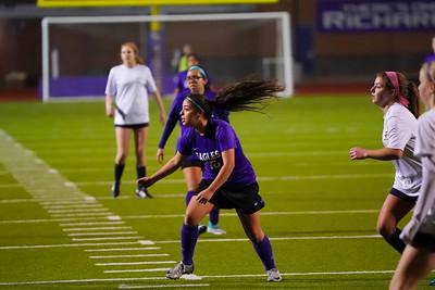 Richardson High School Girls Soccer 1-31-2020