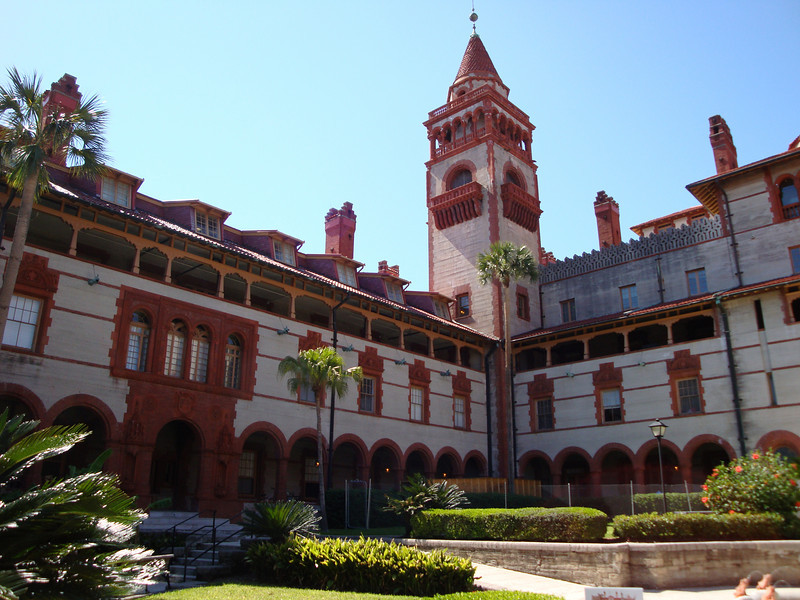 The old Ponce de Leon Hotel built in 1885 by Henry Flagler.