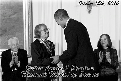 2010 Esther Conwell receives National Medal of Science