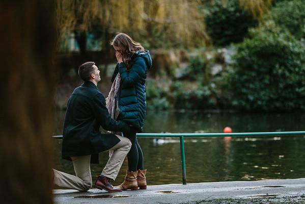David & Liz's Proposal