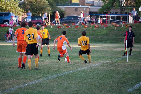 CHS Varsity Soccer 2010