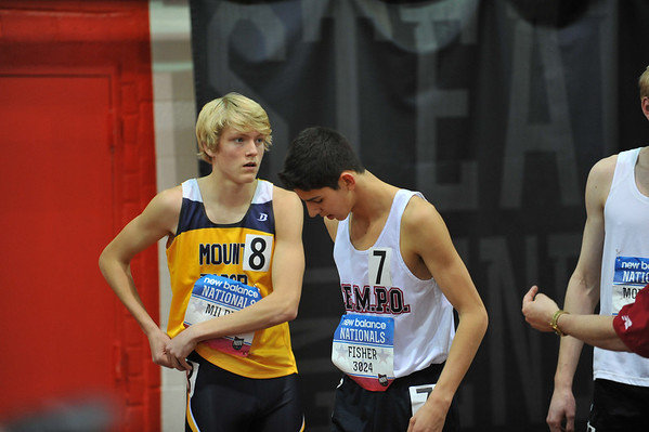 Boys' Mile Run, Michigan Only - 2014 NB Indoor Nationals