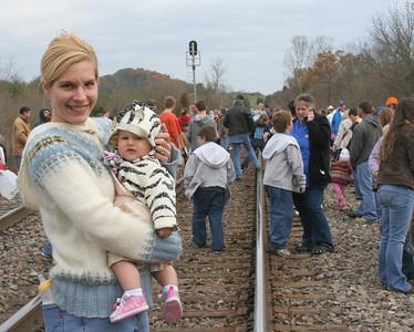 Lacy's First Santa Train