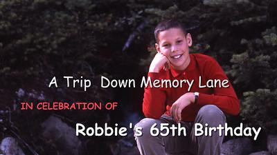 Robbie's 65th Birthday