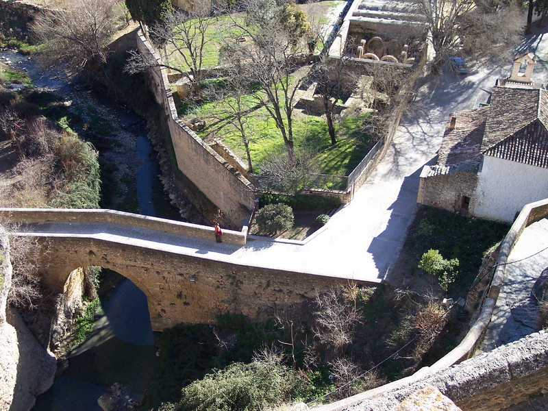 Ronda. Puente árabe y Baños árabes