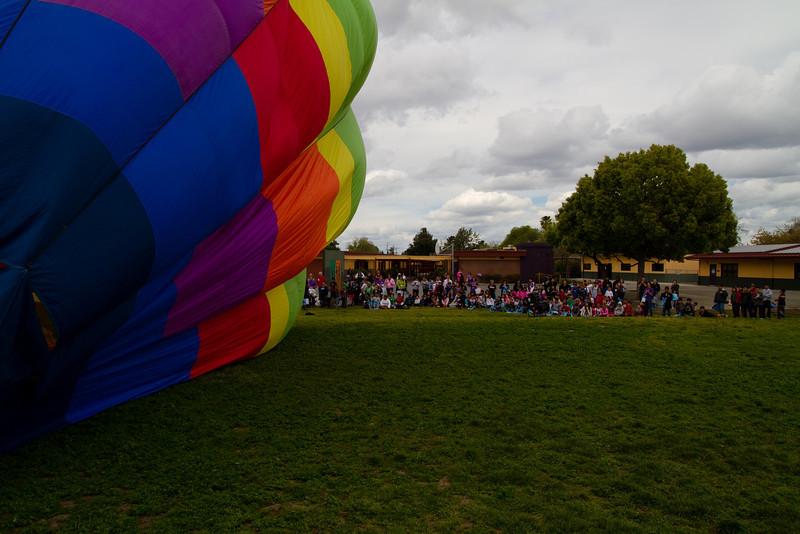 HUNT & Hot Air Baloon at Kids Club