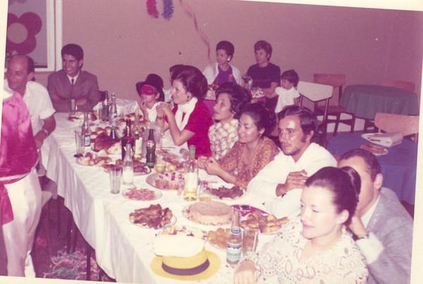 Farra no Luxilo Jorge Costa, Crisálida Costa, Arlete Marques
