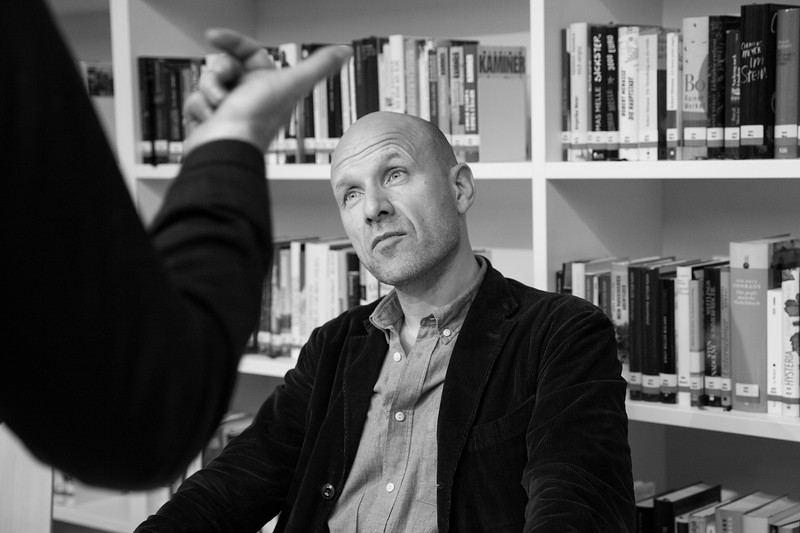 Danish Journalist Adam Holm. Saint Petersburg, 2019.