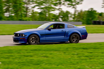 2019 SCCA May TNiA Int Pitt Race Blu Mustang