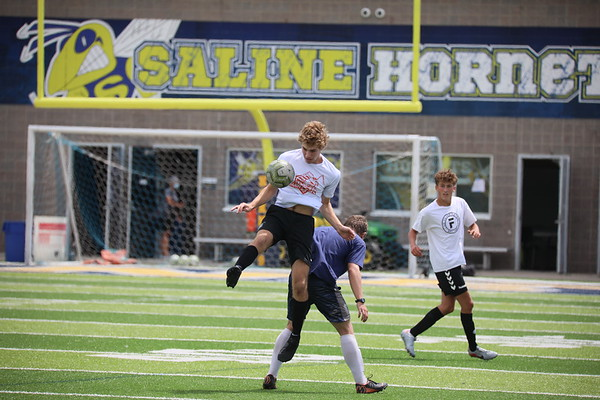 Saline Fall Sports Training, COVID-19 Aug. 13 2020