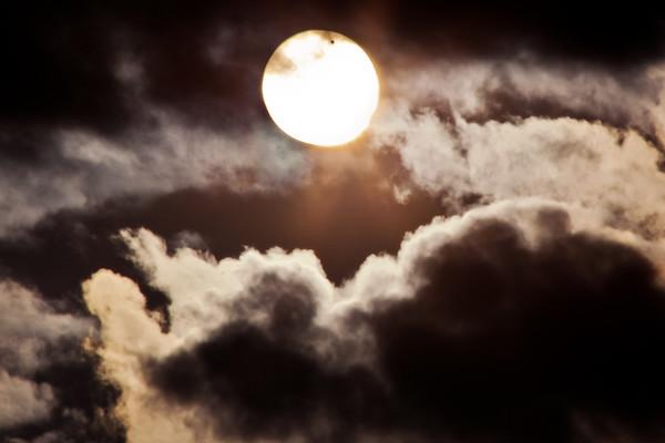 Sun, Moon, and Venus