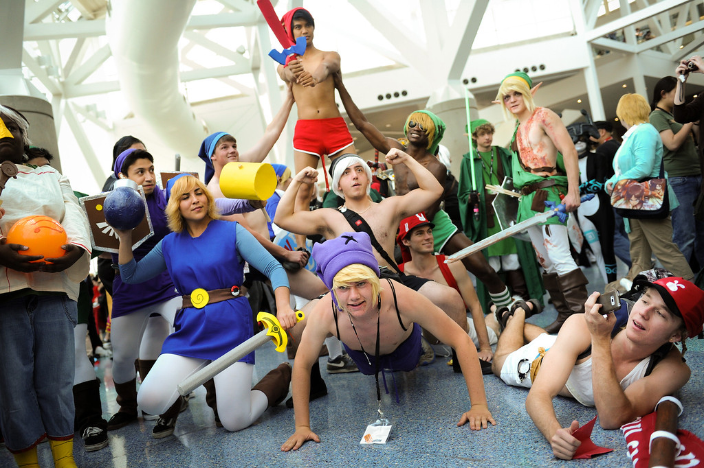 . Anime Expo at the L.A. Convention Center, Saturday, July 6, 2013. (Michael Owen Baker/L.A. Daily News)