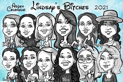Lindsay's Bachelorette Party