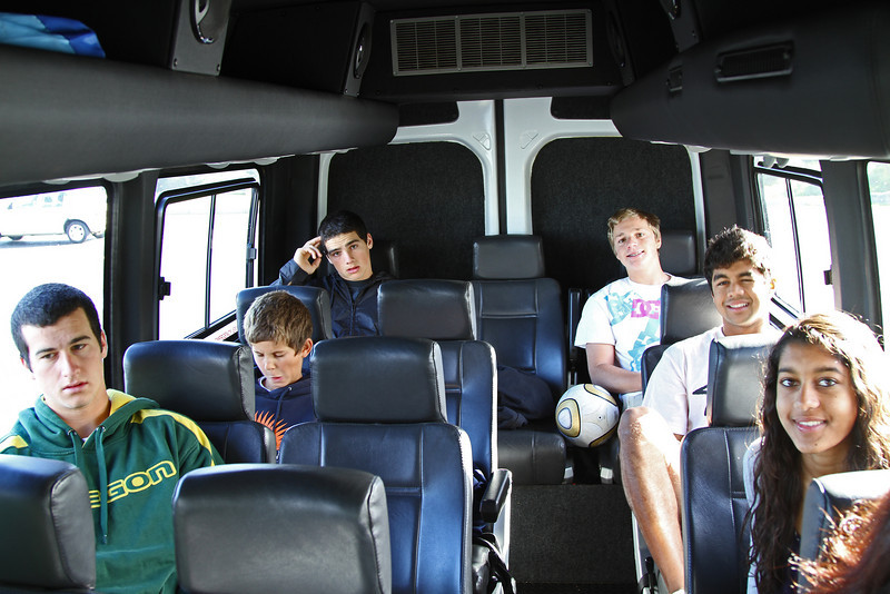 Tour bus to Cape Point