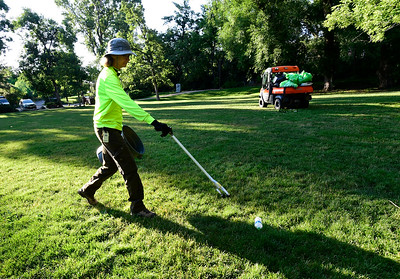 Photos: Cleaning Up and More Fun at Eben G. Fine Park