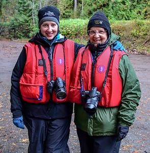 9-24-19 River Float Donna & Sharlene - Bella Coola