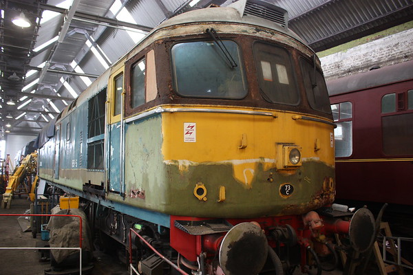 Spa Valley Railway - Class 33 Running Weekend, 12th March 2016
