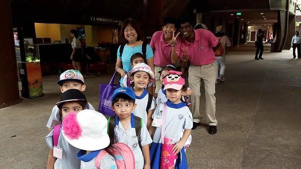 Field Trip to Jurong Bird Park for Nursery children