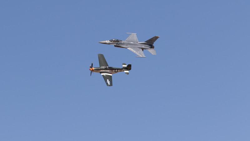 Reno Races Heritage flight
