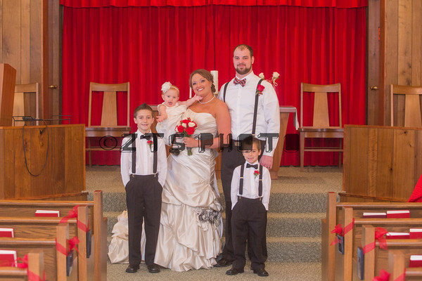 Bridal Party & Family Indoor Formals