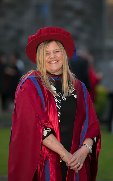 01/11/2017. Waterford Institute of Technology Conferring. Pictured is Mary Kelly from Waterford who was conferred a PhD.  Picture: Patrick Browne