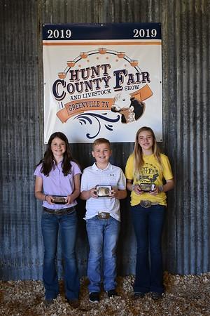 Hunt County Fair 2019: Livestock Judging